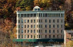 Basin Park Hotel in the fall